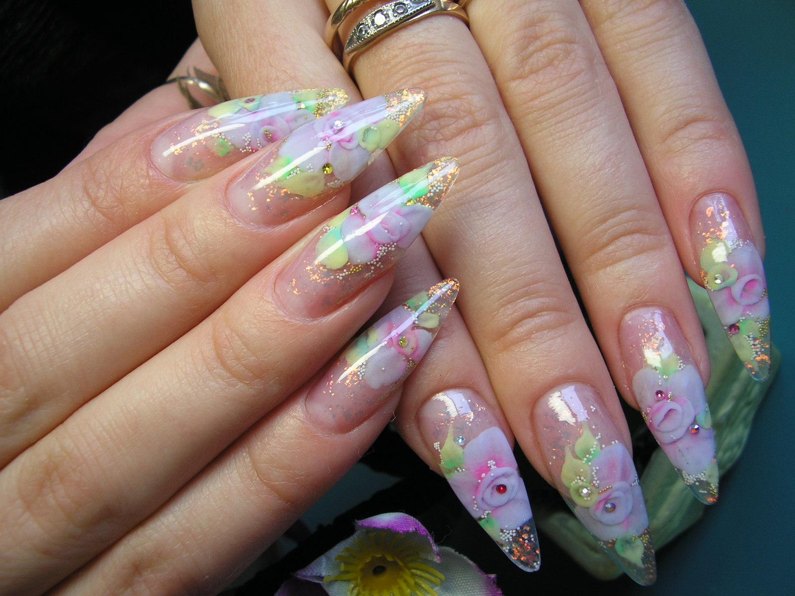 Наращивание ногтей аквариум Севастополь, Аквариумный дизайн ...